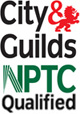 City and Guilds NPTC Qualified